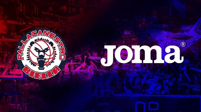 166293c7c4ffa Joma nuovo sponsor tecnico di Pallacanestro Biella, accordo triennale per  crescere insieme